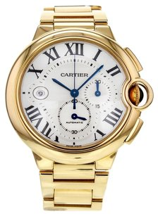 Rolex Men's Ballon Bleu W6920008 Automatic Chronograph Watch in 18k Yellow Gold W6920008 CRTBBY