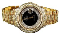 Rolex Mens Mm Rolex President 18038 18k Yellow Gold Day-date With 18.65 Ct Diamond