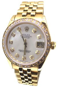Rolex Rolex 31mm 18k Gold DateJust Watch