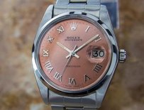 Rolex Rolex 6694 Oysterdate Precision Manual Swiss Made Luxury Watch Circa 1970 J804