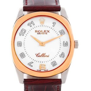 Rolex Rolex Cellini Danaos18k White And Rose Gold Watch 4233
