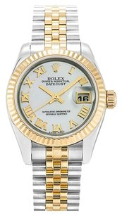 Rolex ROLEX DATEJUST 179173 18K GOLD AND STAINLESS STEEL LADIES WATCHES