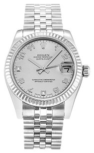 Rolex ROLEX DATEJUST 178274 CUSTOM DIAMOND UNISEX WATCH