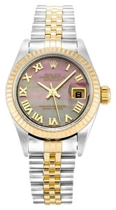 Rolex ROLEX DATEJUST 79173 STAINLESS STEEL AND 18K GOLD LADIES WATCH