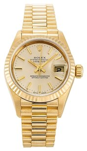 Rolex ROLEX DATEJUST 79178 18K YELLOW GOLD LADIES PRESIDENTIAL WATCH
