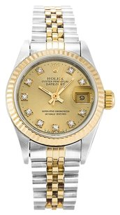 Rolex ROLEX DATEJUST DIAMOND DIAL LADIES WATCH