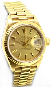 Rolex Rolex Ladies President Datejust, 69178 - 18K Gold