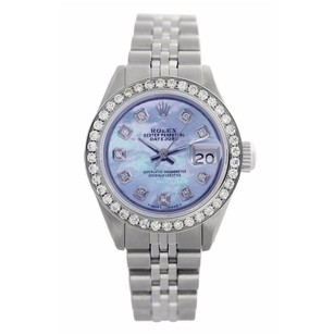 Rolex Rolex Lady date just Custom diamond MOP watch
