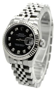Rolex ROLEX DATEJUST 179174 Stainless Steel Original Diamond Dial Ladies Watch