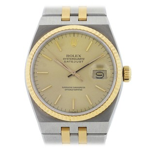 Rolex Rolex Mens Two-Tone Oyster Quartz