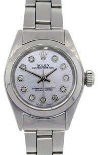 Rolex Rolex Oyster Perpetual 6918 MOP Diamond Dial Steel Ladies Watch