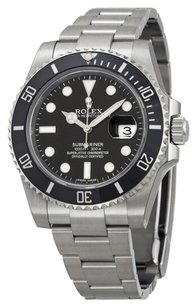 Rolex Rolex Oyster Perpetual Submariner Black Dial Black Cerachrom Bezel Steel Men's Watch 116610LN