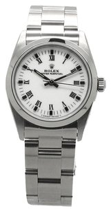 Rolex Rolex Oyster perpetual White Roman dial Midize 31mm Ladies