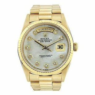 Rolex Rolex President Day-date - Diamond Dial - Yellow Gold - 36mm Watch - 18038