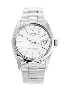 Rolex ROLEX SS OYSTER PERPETUAL DATE 34mm Men's Watch
