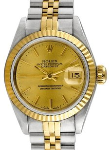 Rolex Rolex Datejust Stainless Steel and 18K Yellow Gold Laides Watch