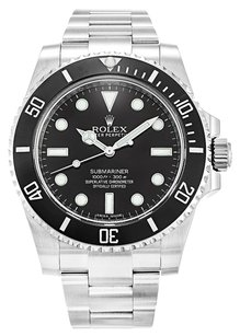 Rolex ROLEX SUBMARINER 114060 STAINLESS STEEL BLACK DIAL MEN'S WATCH