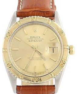Rolex Rolex Thunderbird Wristwatch - 18k Gold Stainless Steel Mechanical Mens