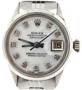 Rolex Rolex Datejust Lady Stainless Steel Watch Jubilee White Mop Mother Pearl Diamond