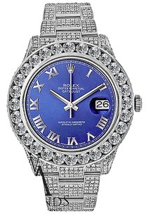 Rolex Rolex 116300 Datejust - 41mm Stainless Steel Watch With Carats Of Diamonds