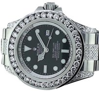 Rolex Official Rolex Watch Sea Dweller 116660 - Diamond Bezel Lugs And Bracelet