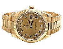 Rolex Mens Rolex Day-date Ii 18k Yellow Gold 41mm President 218238