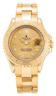 Rolex ROLEX YACHT-MASTER 169628 18K YELLOW GOLD LADIES WATCH