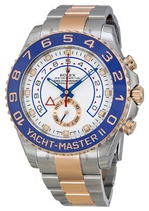 Rolex ROLEX Yacht-Master II Two-Tone Steel 18kt Rose Gold Men's Watch 116681