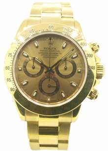 Rolex Rolex Yellow Gold Daytona Watch 116528