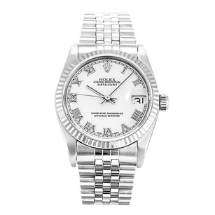 Rolex Stainless Steel Datejust 68274 31mm Unisex Watch