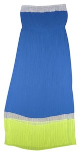 Color-blocked Maxi Dress by Romeo & Juliet Couture Strapless Pleated Maxi Flowy