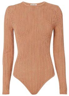 Ronny Kobo Collection Kardashian Sexy Top Beige