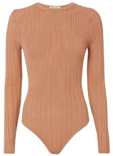 Ronny Kobo Collection Top Beige