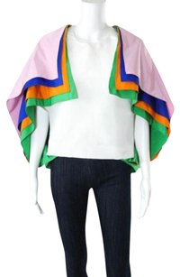 Rosie Assoulin Manrepeller Top white/ multi
