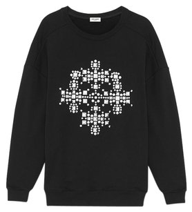 Saint Laurent Crewneck Mens Sweatshirt