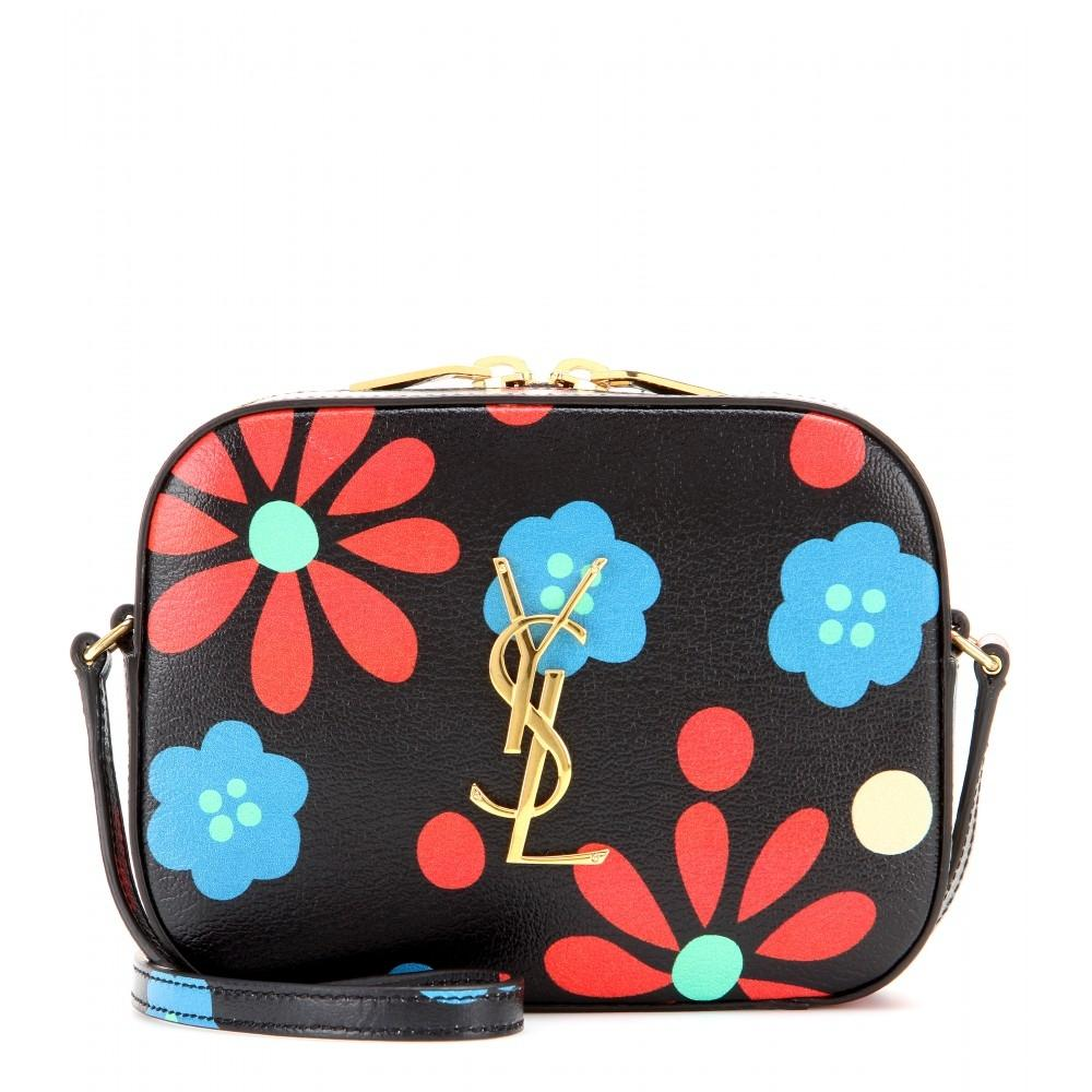 Saint Laurent Floral Camera Cross Body Bag On Tradesy