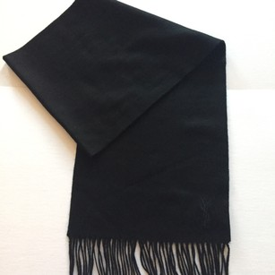 Saint Laurent Saint Laurent Pour Homme Wool Scarf NWT