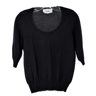 Saint Laurent Yves Wool Top Black
