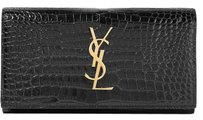 Saint Laurent Wallet Ysl Wallets Ysl Black Clutch