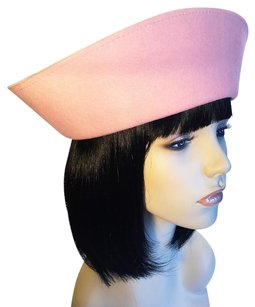 Saks Fifth Avenue SAKS FITH AVENUE Pink Felt Russian [ HeavenlyHats ]
