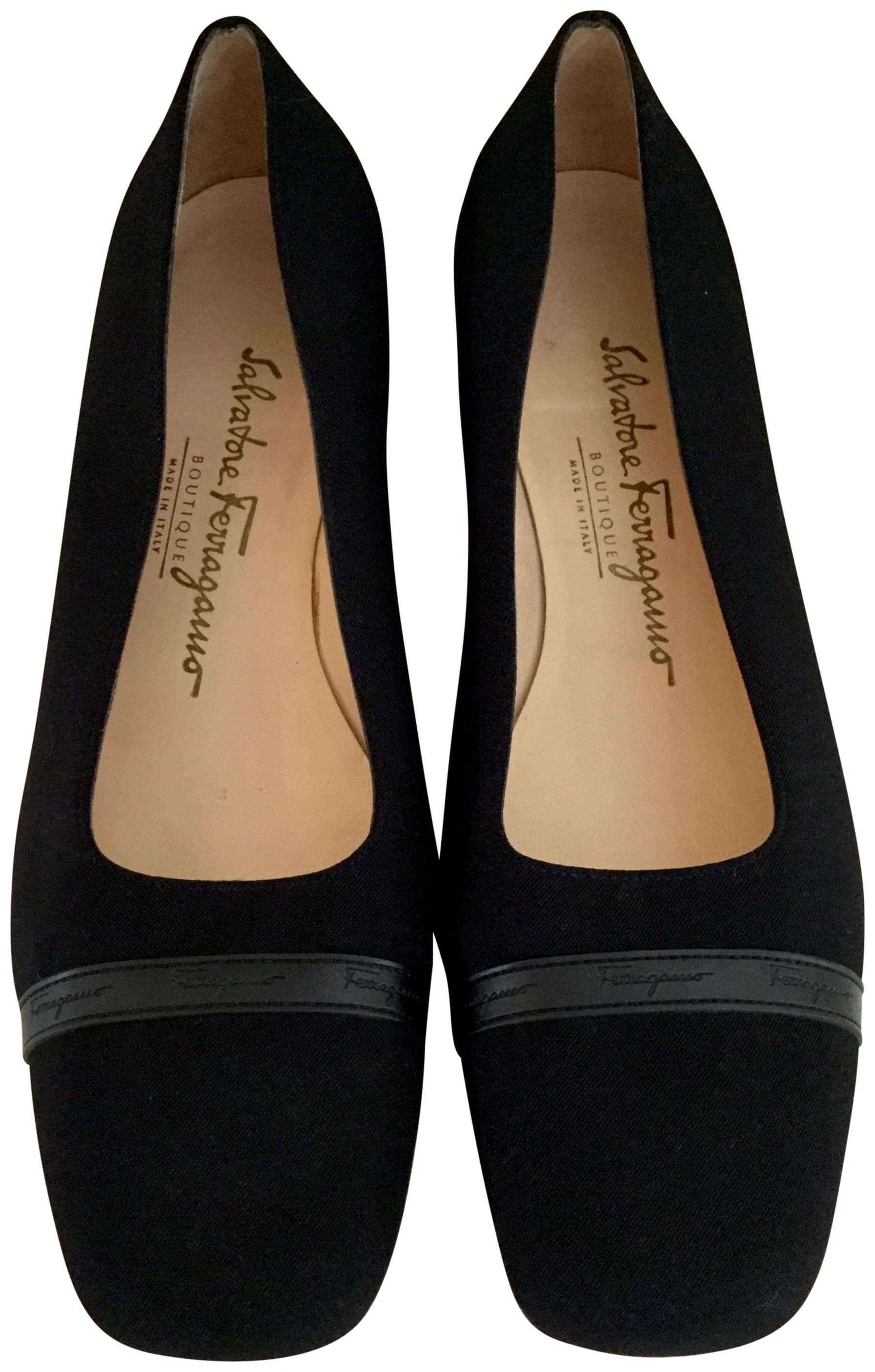 Salvatore Ferragamo Square-Toe Suede Flats affordable for sale discount shop cheap price from china buy cheap footlocker pictures cheap low price fee shipping wTrTHcit