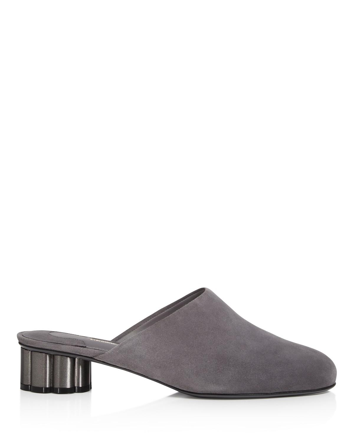 Free Shipping The Cheapest Salvatore Ferragamo Low Heel Mules - 100% Exclusive Buy Cheap Perfect Discount With Mastercard Free Shipping Explore yXmacJw8