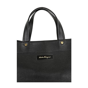 Salvatore Ferragamo Wome's Tote in Black