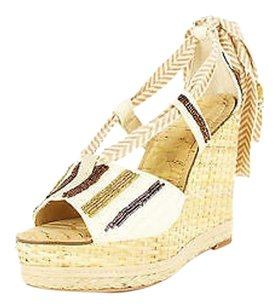 Sam Edelman Womens beige Platforms
