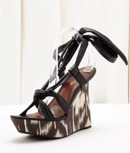 Sam Edelman Womens Talia Black, White Platforms
