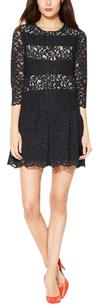 Sandro Lace Date Scalloped Dress