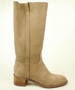 Sartore Sabbi Suede Knee High Eu Off White Boots
