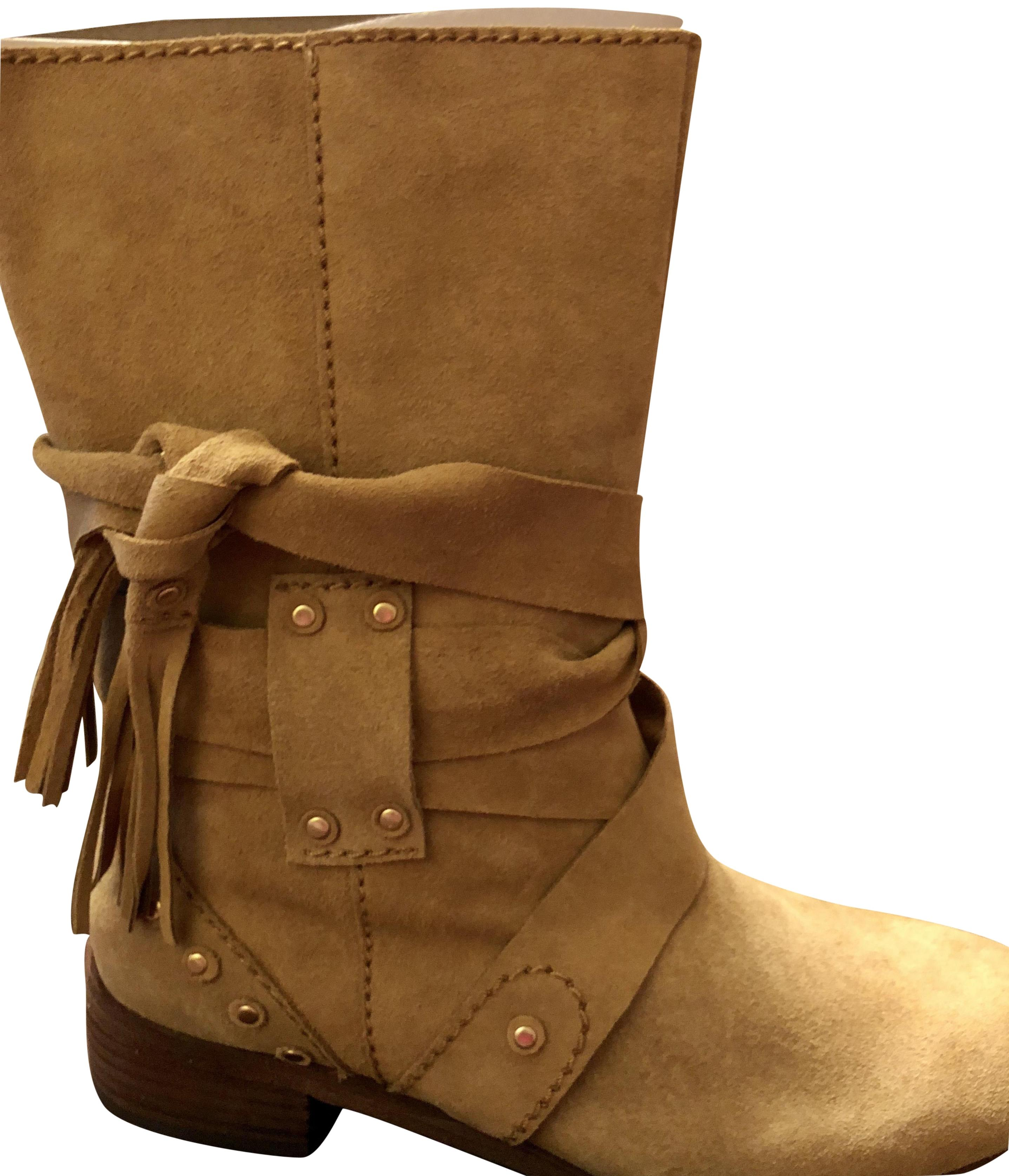 See by Chloé This Week --were--279.00--tan Boots/Booties Size US 7.5 Regular (M, B)