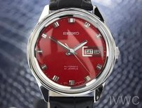 Seiko Seiko 1960s Red Dial Automatic Vintage Dress Watch Made In Japan For Men Jr25