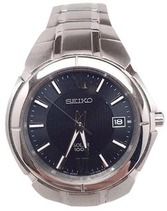 Seiko Seiko Sne087 Stainless Steel Solar Mens Watch